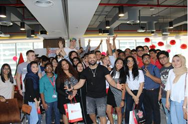 Virgin Radio at MODUL, Dubai