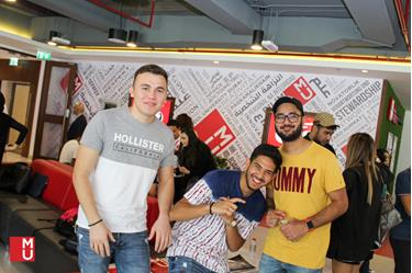 Virgin Radio at MODUL Orientation Week