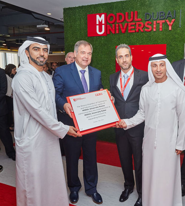 MODUL University Dubai Inauguration