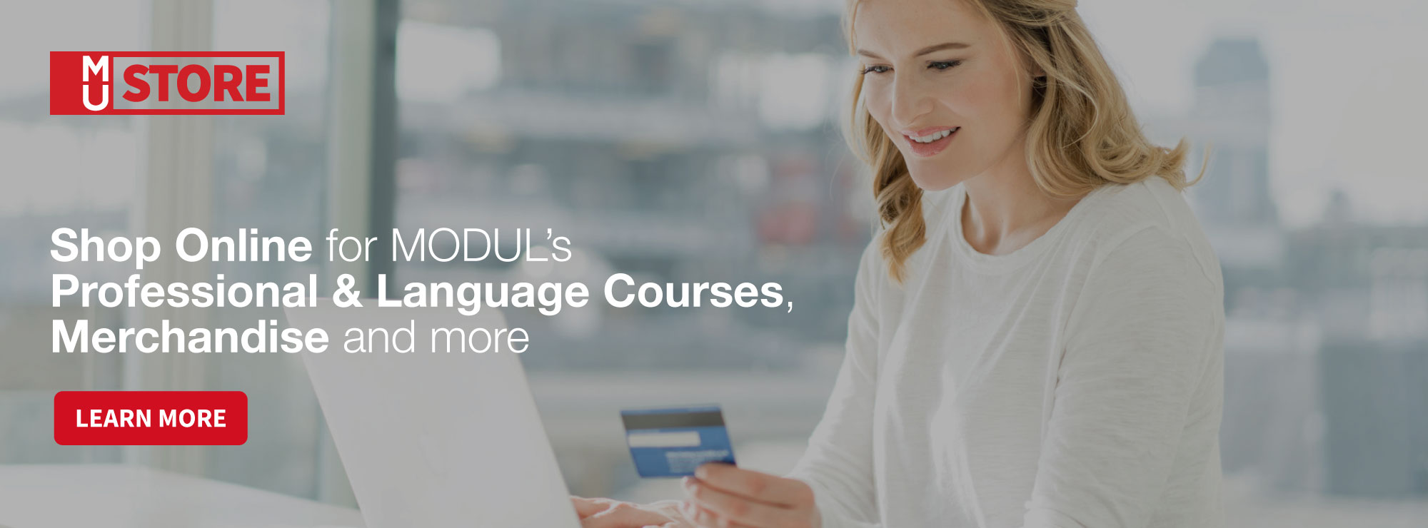 Shop Online for MODUL's Professional & Language Courses, Merchandise and more